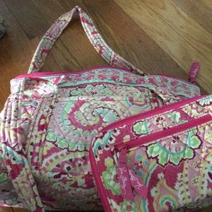 Vera Bradley shoulder bag and wallet